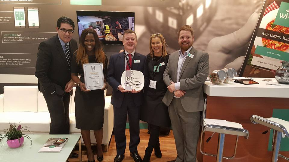 wi-Q Wins the Technology Innovation Award at Hotelympia 2016