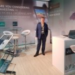Graham Cornhill at The Hotel Show, Dubai