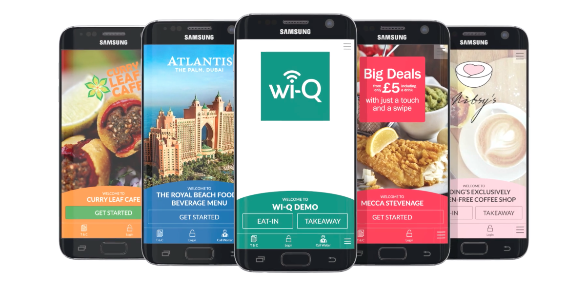 brand customised mobile ordering