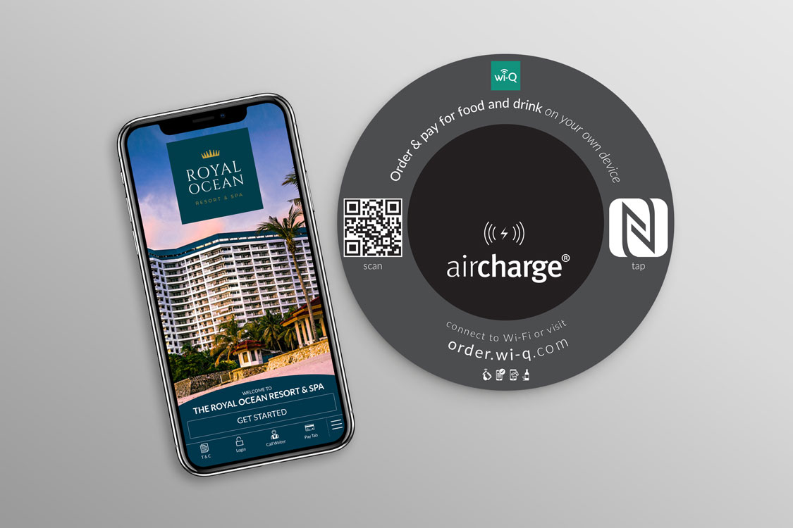 wi‐Q partners with Aircharge